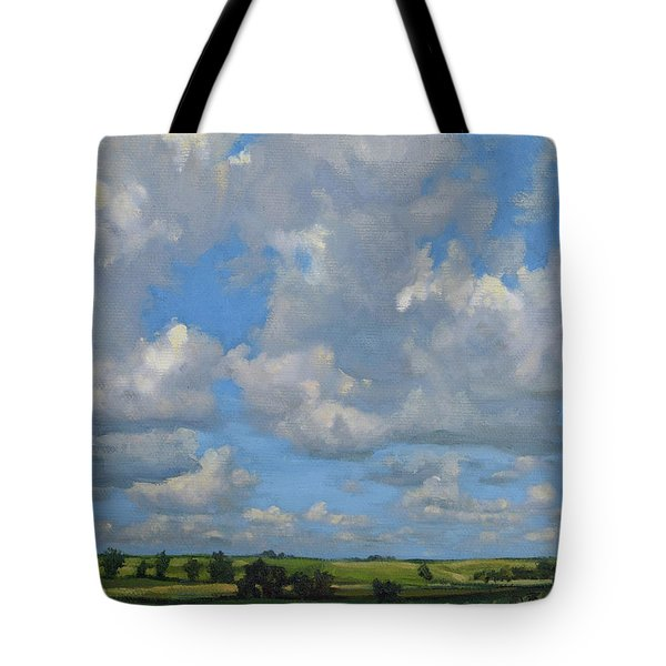 July In The Valley Tote Bag