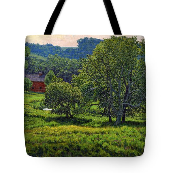 July Summer Mid Afternoon Tote Bag