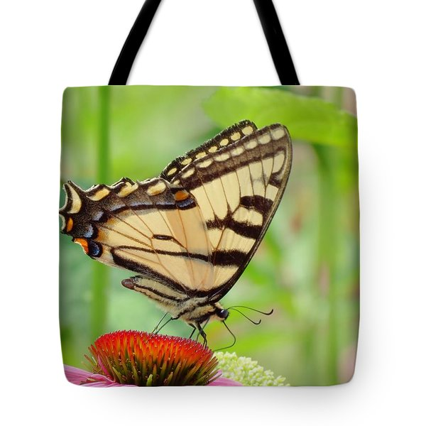 July Swallowtail Tote Bag by MTBobbins Photography