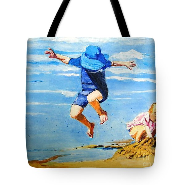Jump'n Jack And Jill Tote Bag