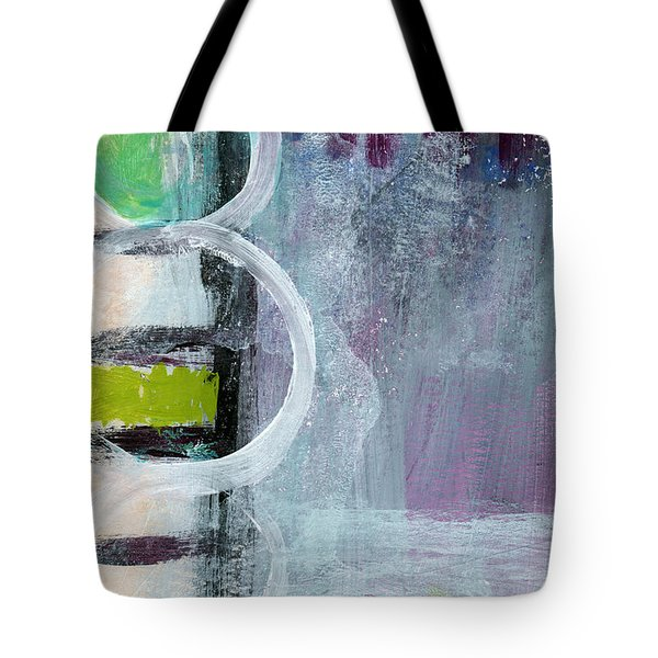Junction- Abstract Expressionist Art Tote Bag