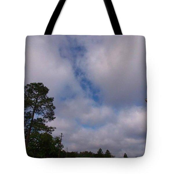Sunday Morning Worship Tote Bag