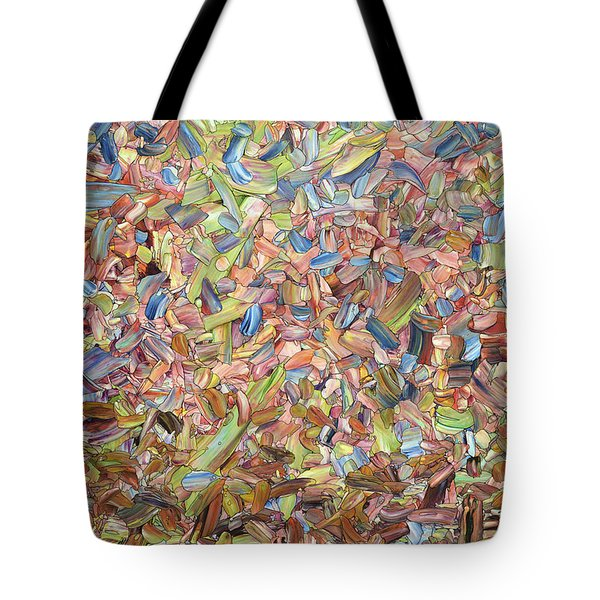 Tote Bag featuring the painting June by James W Johnson