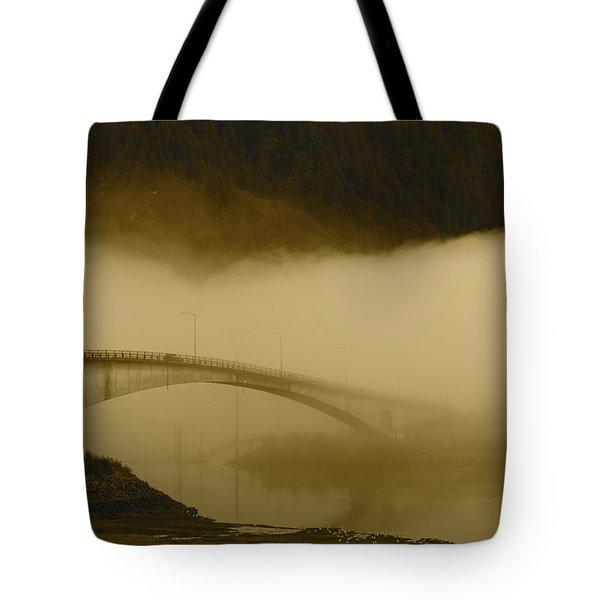 Juneau - Douglas Bridge Tote Bag