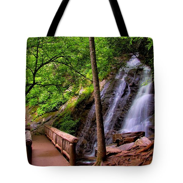 Juney Whank Falls Tote Bag