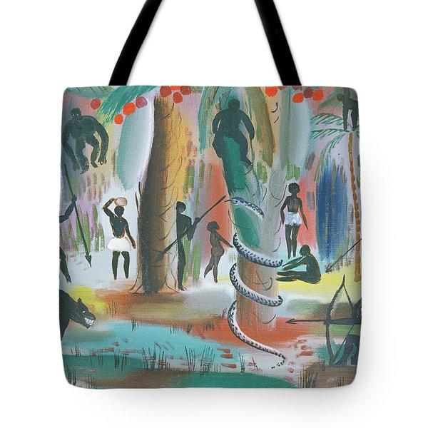 Jungle, 1979 Oil On Canvas Tote Bag