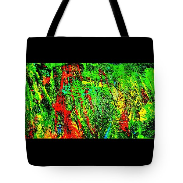 Jungle Beat Tote Bag by Monique Wegmueller