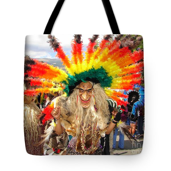 Jungle Dancer Tote Bag