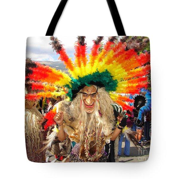 Jungle Dancer Tote Bag by Lew Davis