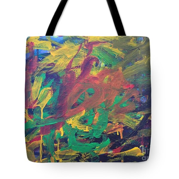 Jungle Tote Bag by Donald J Ryker III