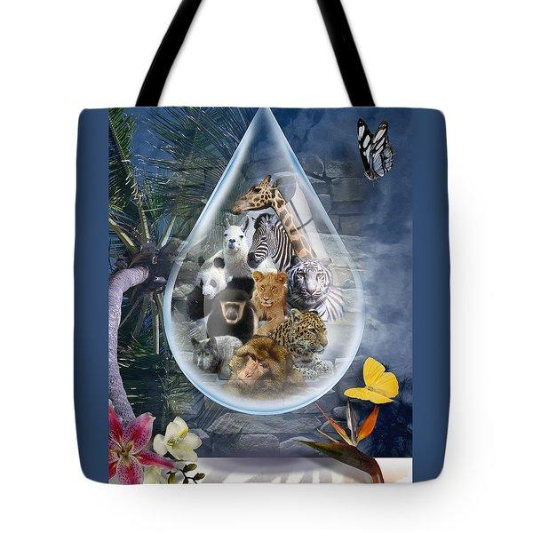 Jungle Drop Tote Bag