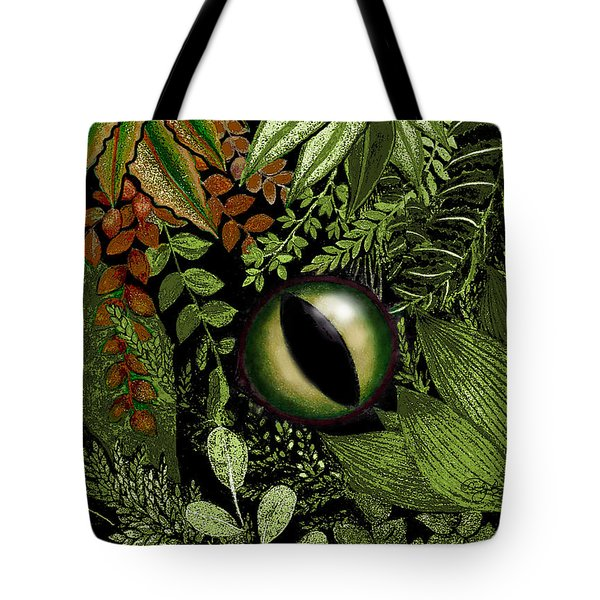 Jungle Eye Tote Bag by Carol Jacobs