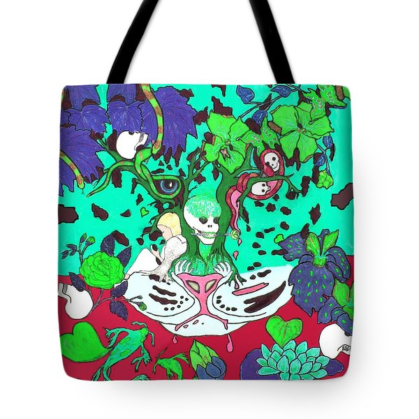 Tote Bag featuring the digital art Jungle Fever 4 by Stephanie Grant