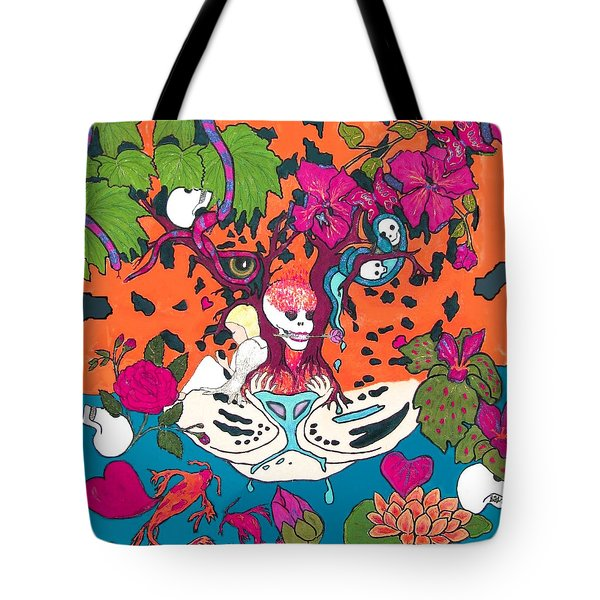 Tote Bag featuring the digital art Jungle Fever 5 by Stephanie Grant