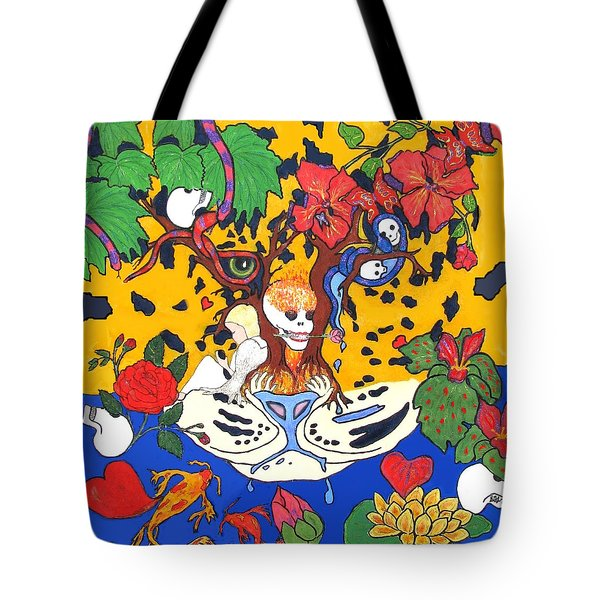 Tote Bag featuring the painting Jungle Fever by Stephanie Grant