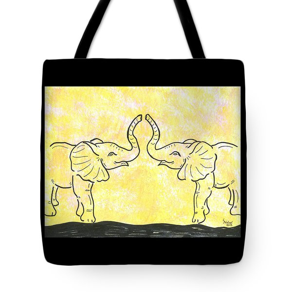 Jungle Love Tote Bag by Susie WEBER