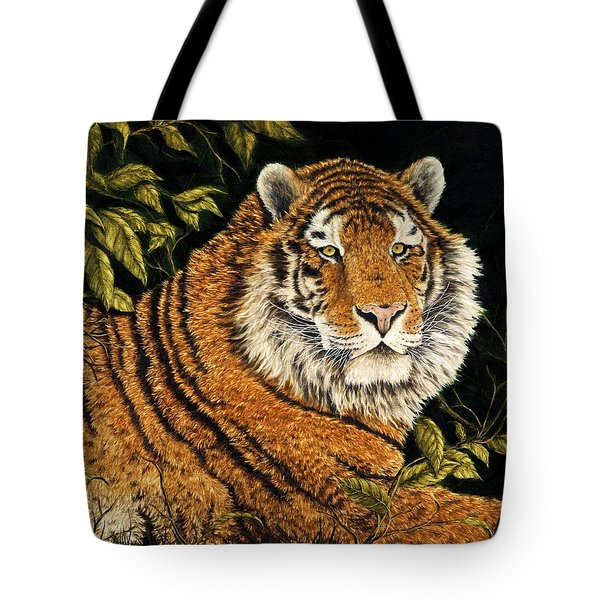 Jungle Monarch Tote Bag by Rick Bainbridge