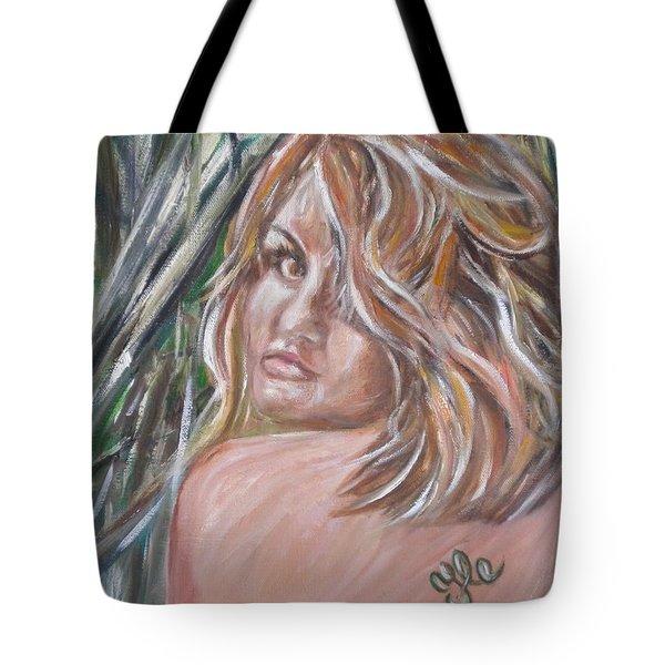Jungle Nymph Tote Bag