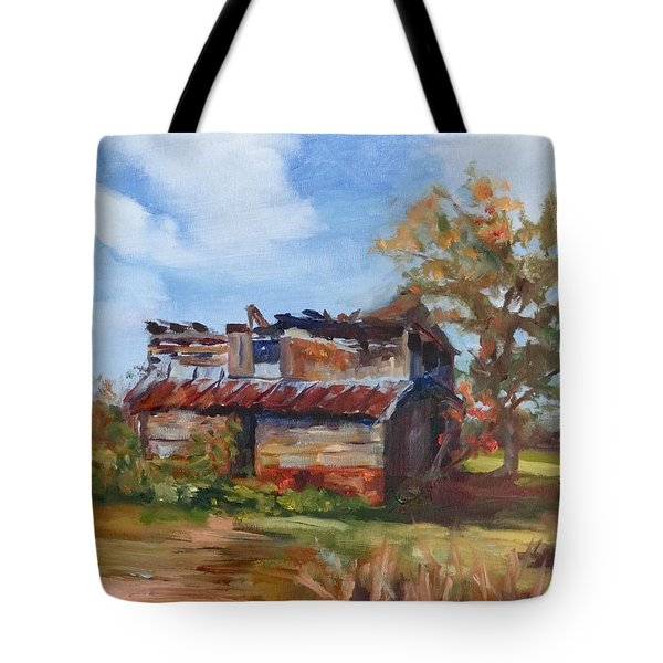 Junior Johnson Lived Here Tote Bag