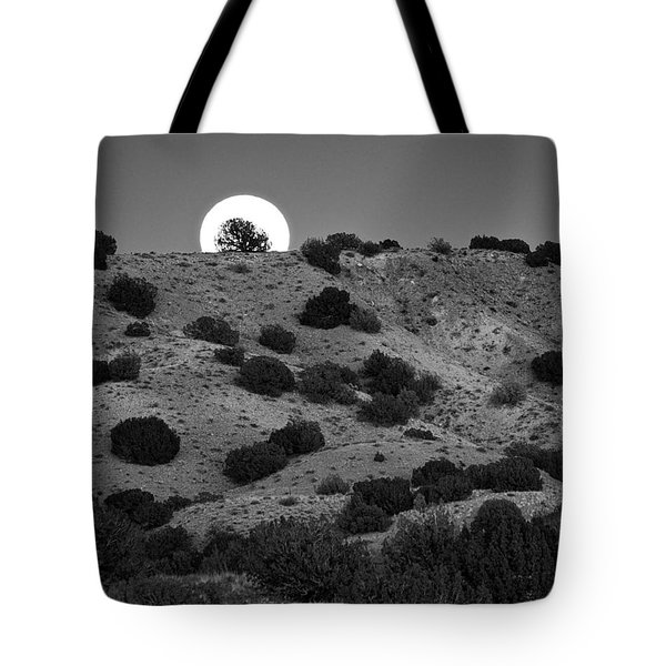 Juniper At Moonrise Tote Bag