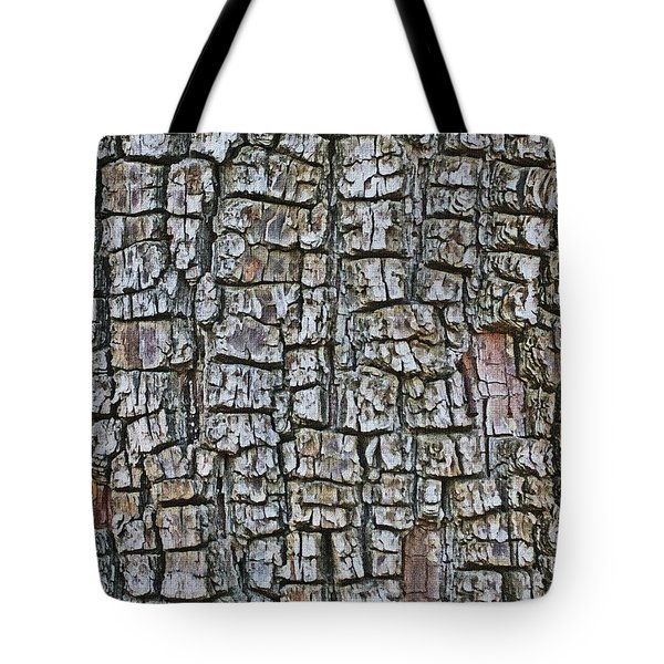 Tote Bag featuring the photograph Juniper Bark- Texture Collection by Tom Janca