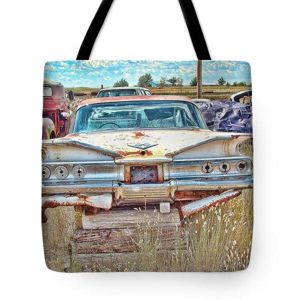 Junkyard Series 1960's Chevrolet Impala Tote Bag