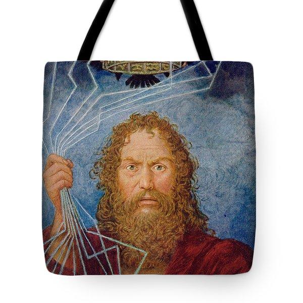 Jupiter Tote Bag by Hans Thoma
