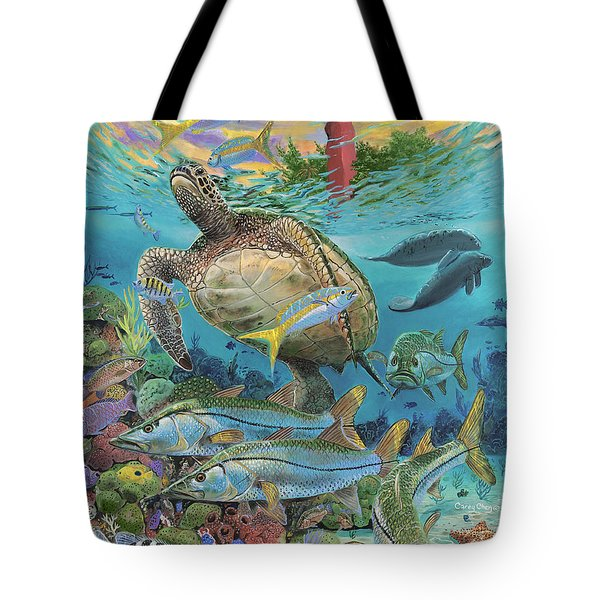 Jupiter Haven Re001 Tote Bag by Carey Chen