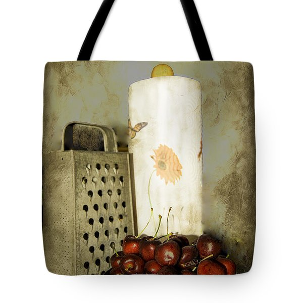 Just A Bowl Of Cherries Tote Bag