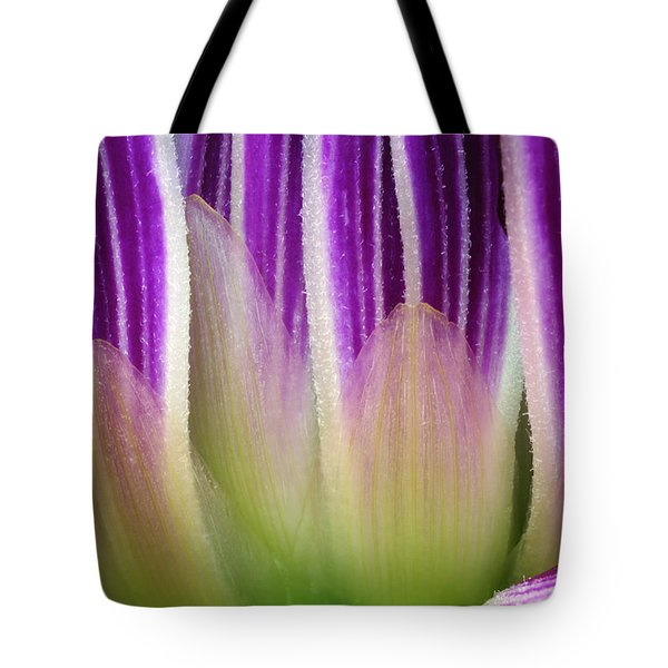 Tote Bag featuring the photograph Just A Dahlia 1 by Wendy Wilton