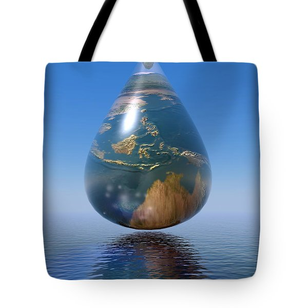 Just A Drop Tote Bag
