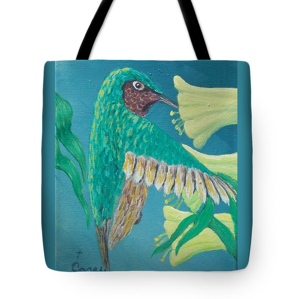 Just A Hummingbird Tote Bag