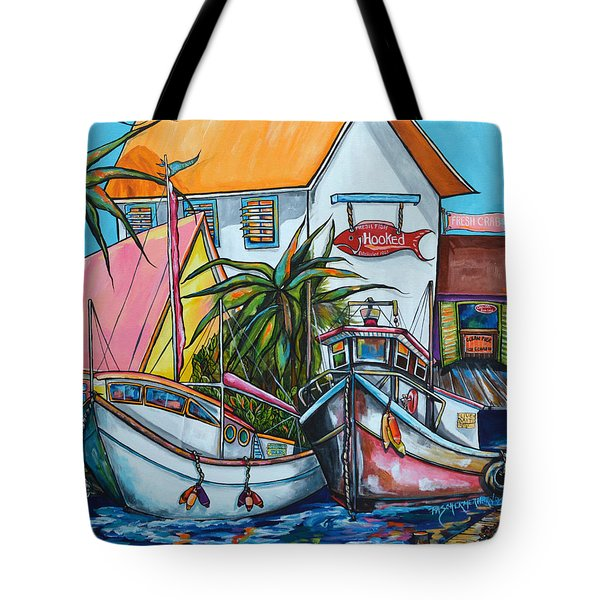 Just A Little Beach Town Tote Bag
