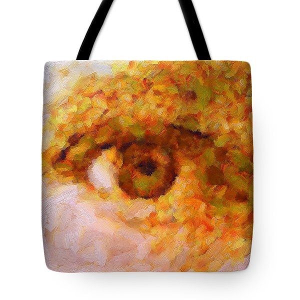 Just A Look Tote Bag by RochVanh