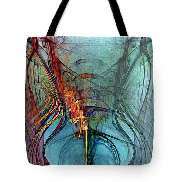 Just A Melody-abstract Art Tote Bag