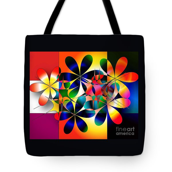 Tote Bag featuring the digital art Just A Note by Iris Gelbart