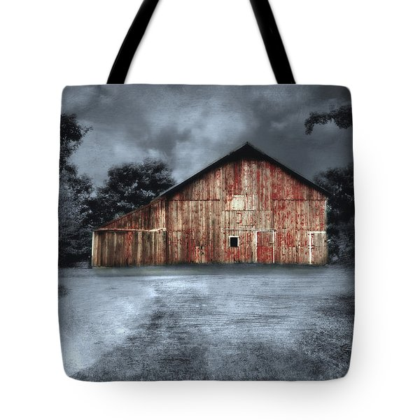 Night Time Barn Tote Bag