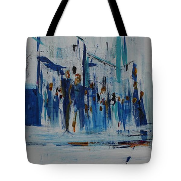 Just Another Day In New York City Tote Bag
