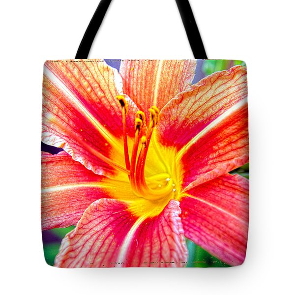 Just Another Day Lilly Tote Bag by Mayhem Mediums