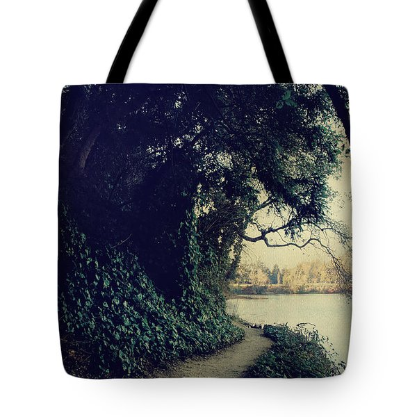 Just Around The Corner Tote Bag by Laurie Search