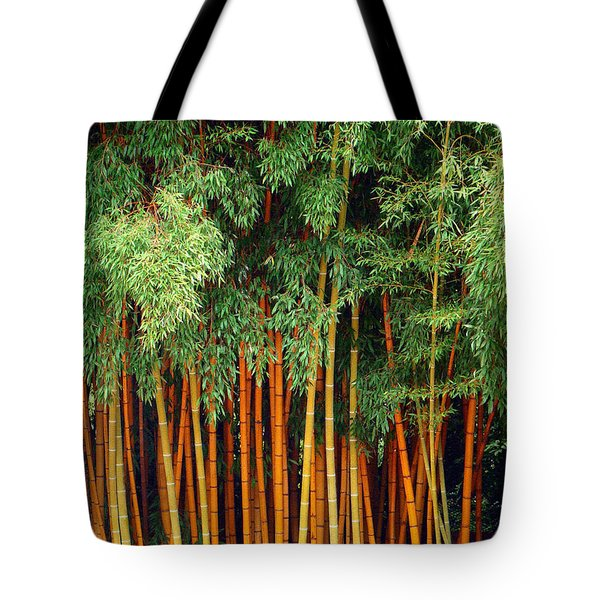 Tote Bag featuring the photograph Just Bamboo by Sue Melvin