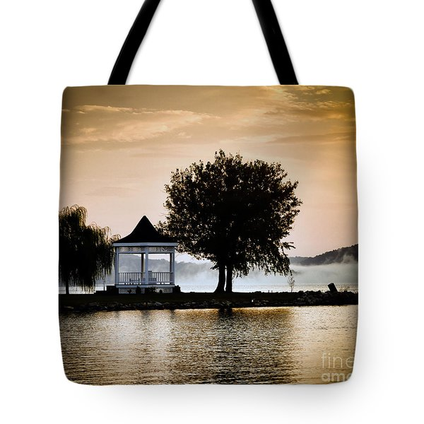Just Before Sunrise Tote Bag