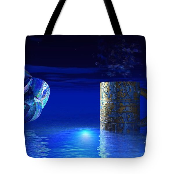 Just Blue Tote Bag
