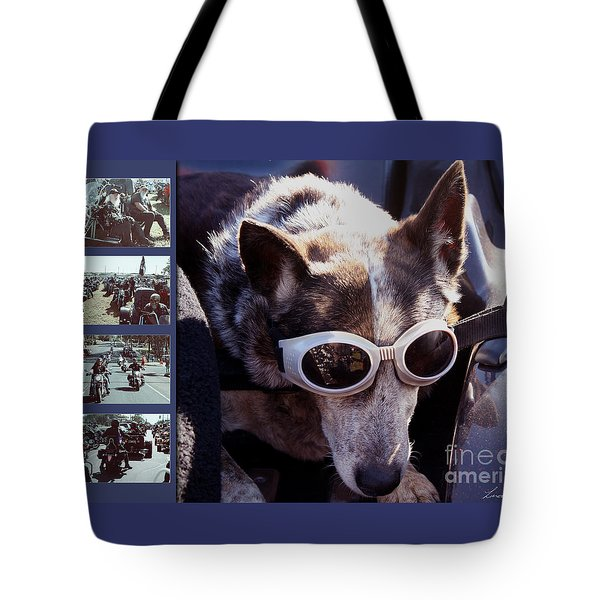 Just Call Me Dog Tote Bag by Linda Lees