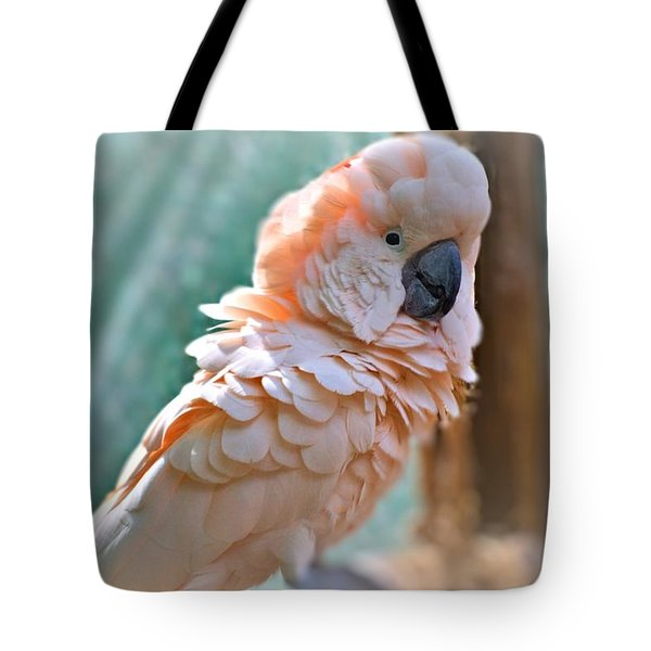 Just Call Me Fluffy Tote Bag by Tara Potts