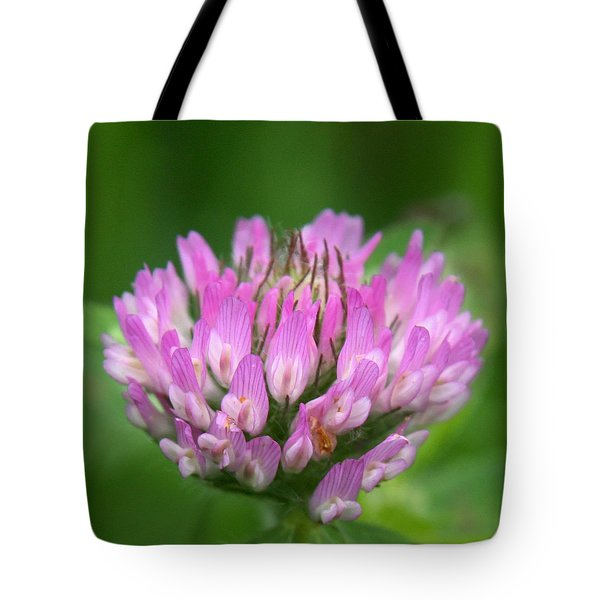 Just Clover Tote Bag by Denyse Duhaime