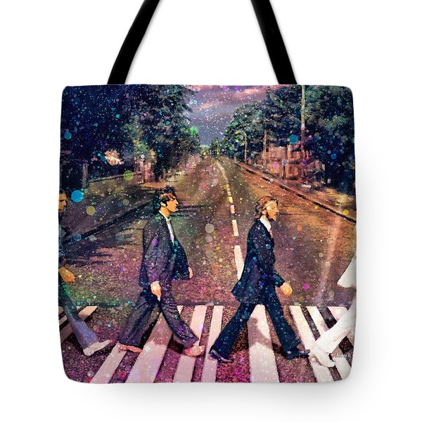 Just Crossing The Street Tote Bag by Angela A Stanton