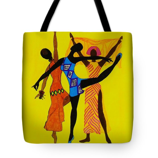 Just Dance Tote Bag