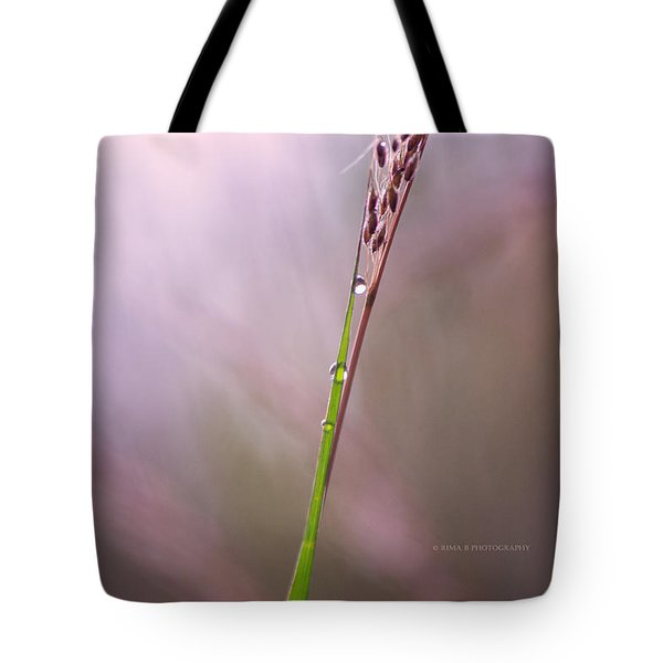 Just Few Drops Tote Bag by Rima Biswas
