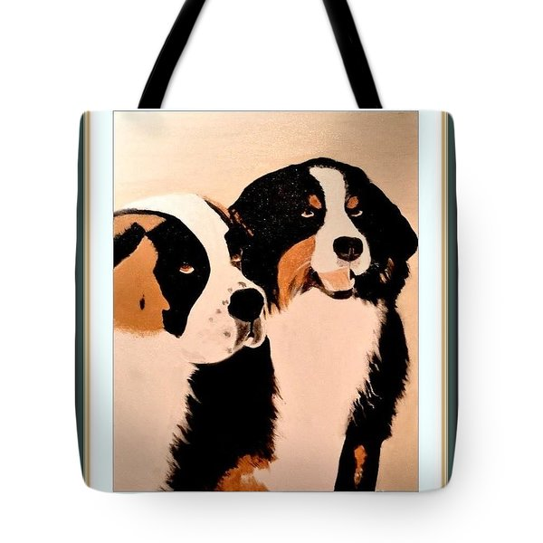 Just Friends Tote Bag by Denise Tomasura